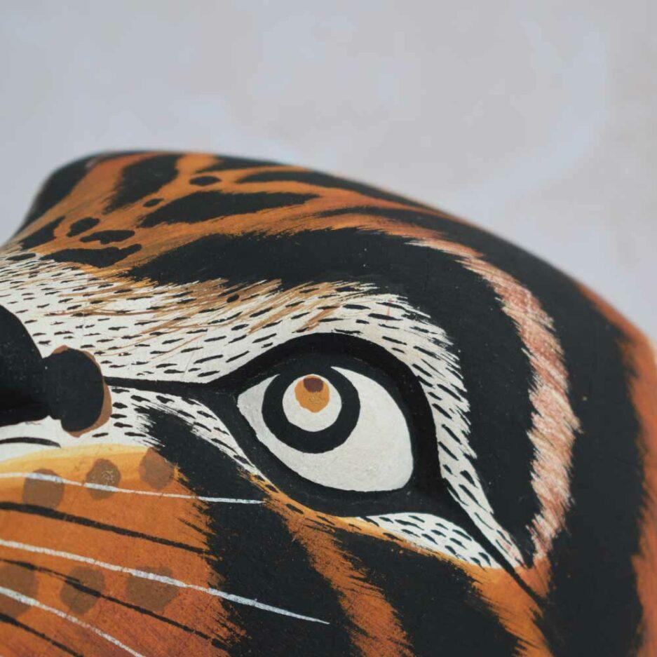 Trophée mural en bois Panthera Finca Home