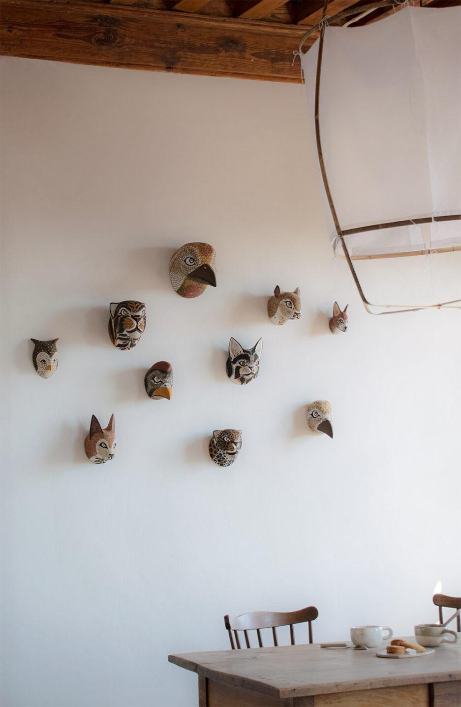 Trophées animaux en bois Finca Home