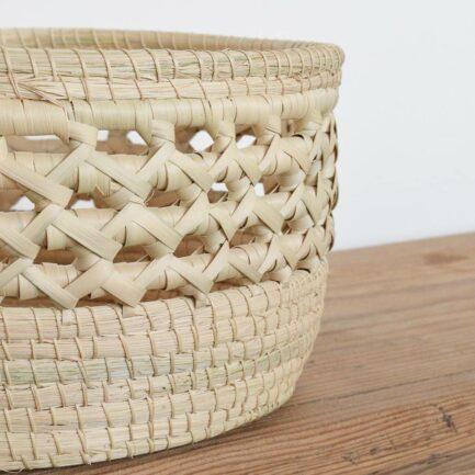 Panière en fibres végétales Finca Home